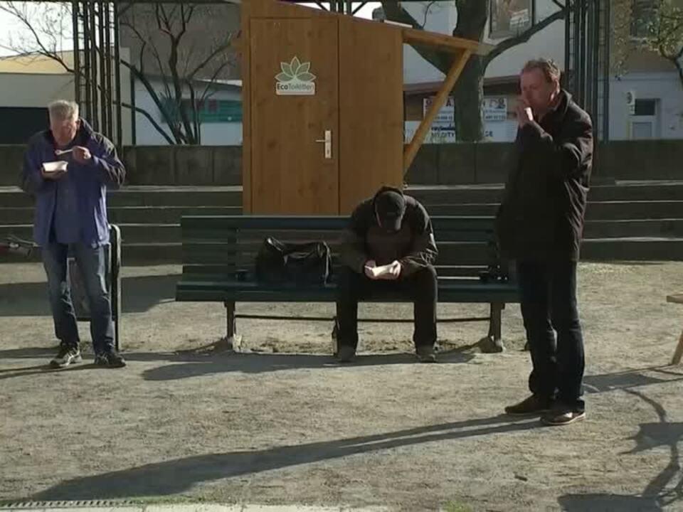 Obdachlose trifft die Coronakrise besonders hart