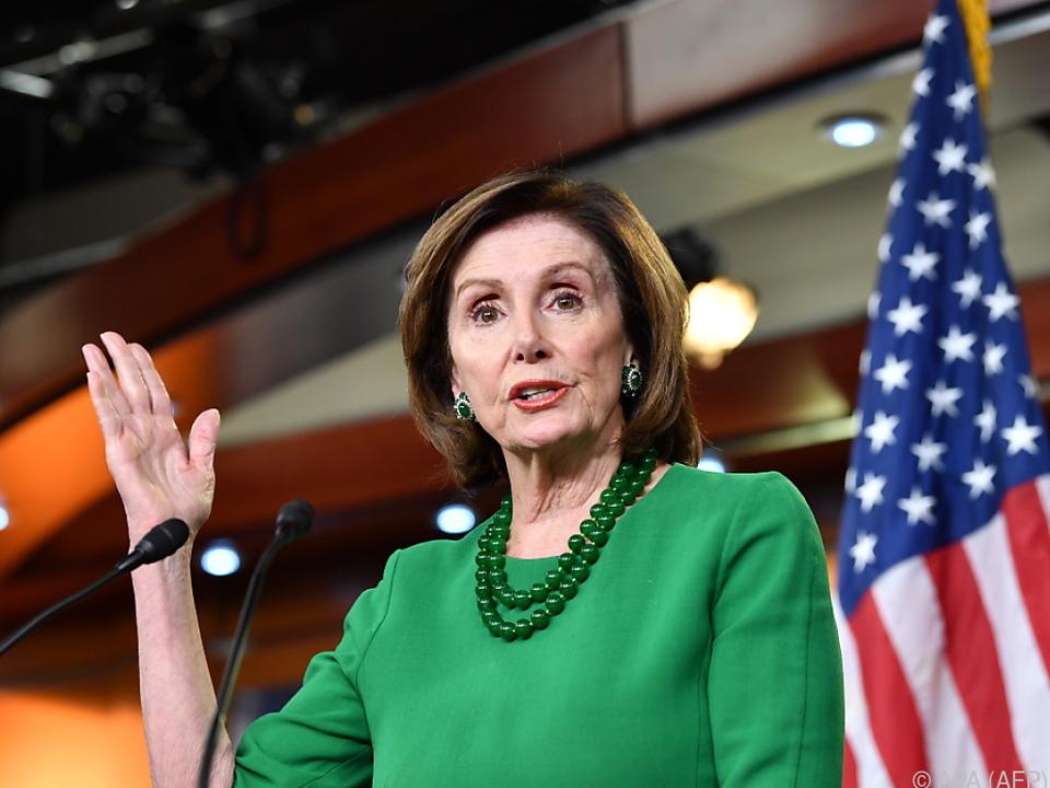 Oppositionsführerin Nancy Pelosi
