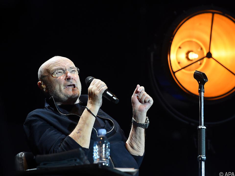 Phil Collins\' Bühnencomeback als Solokünstler war der Auslöser