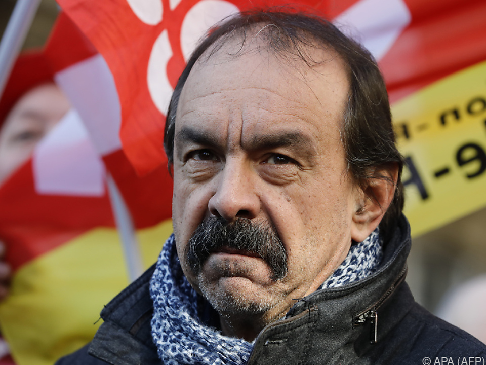 Philippe Martinez kündigte massive Protestkundgebungen an