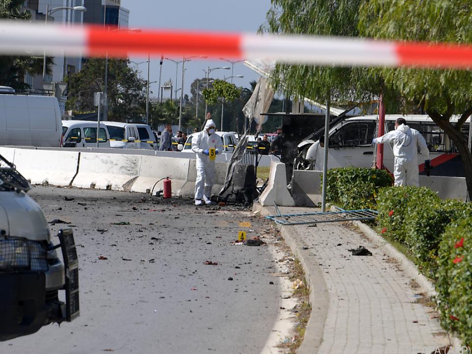 Polizei ermittelt zum Anschlag