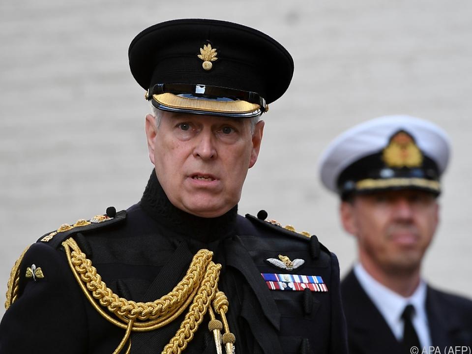 Prinz Andrew weist Missbrauchsvorwürfe zurück