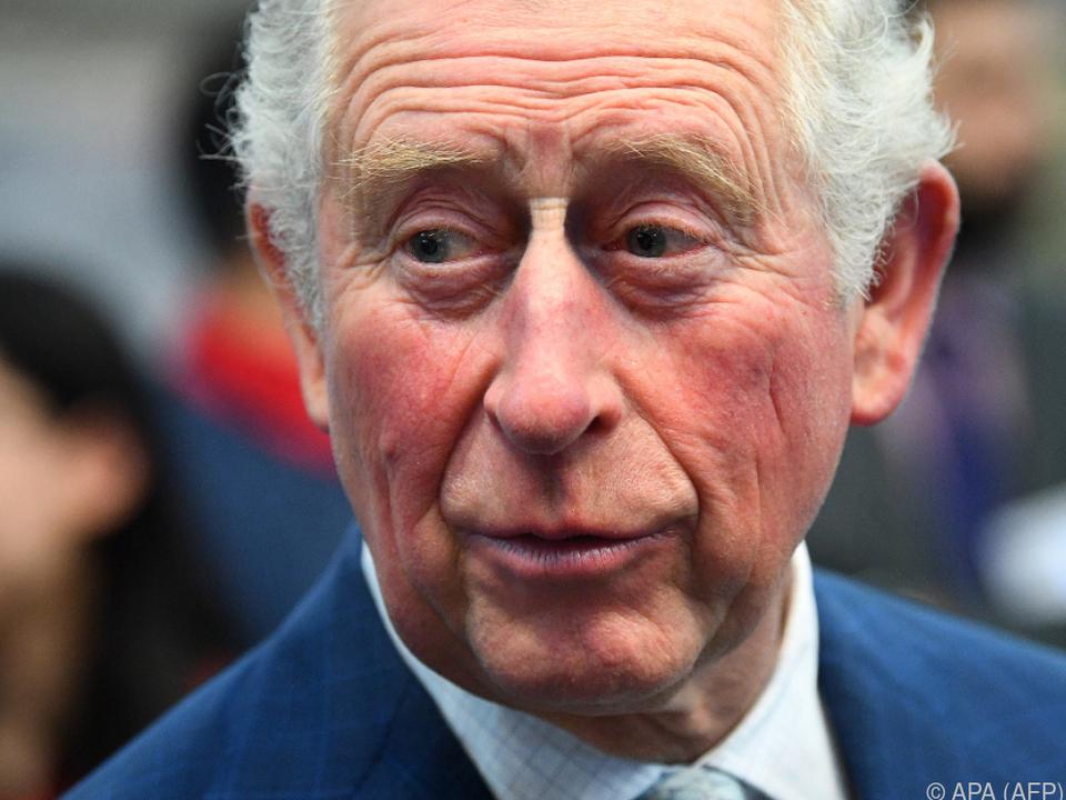 Prinz Charles machte vergangene Woche seine Ansteckung öffentlich