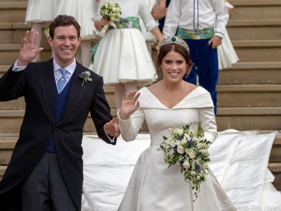 Prinzessin Eugenie heiratete im Oktober 2018