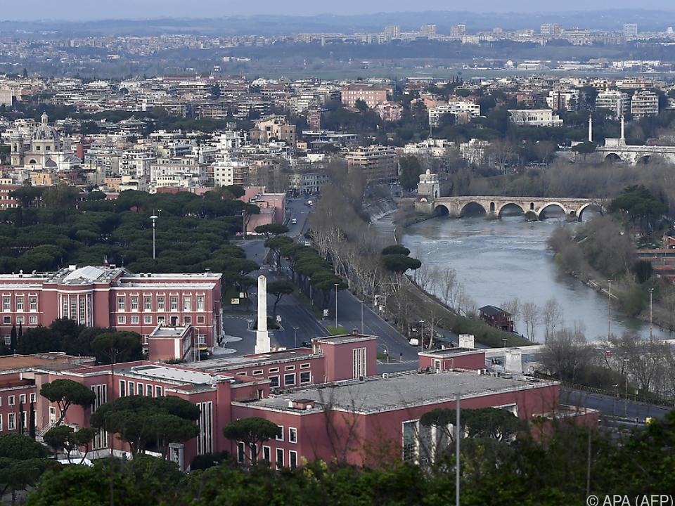 Schwere Tage für Rom und das ganze Land