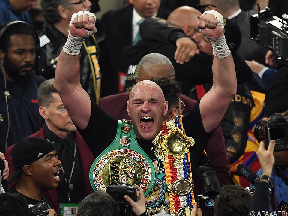Schwergewichts-Box-Weltmeister Tyson Fury
