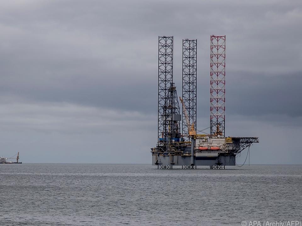 Talfahrt des Ölpreises am Montag