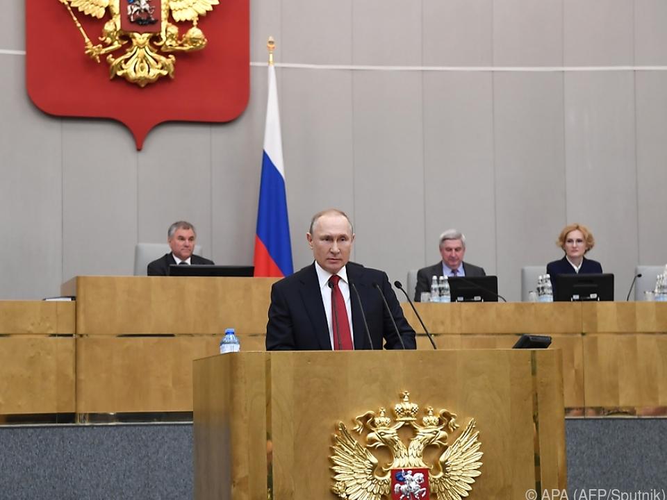 Theoretisch könnte Putin Russland bis 2036 regieren