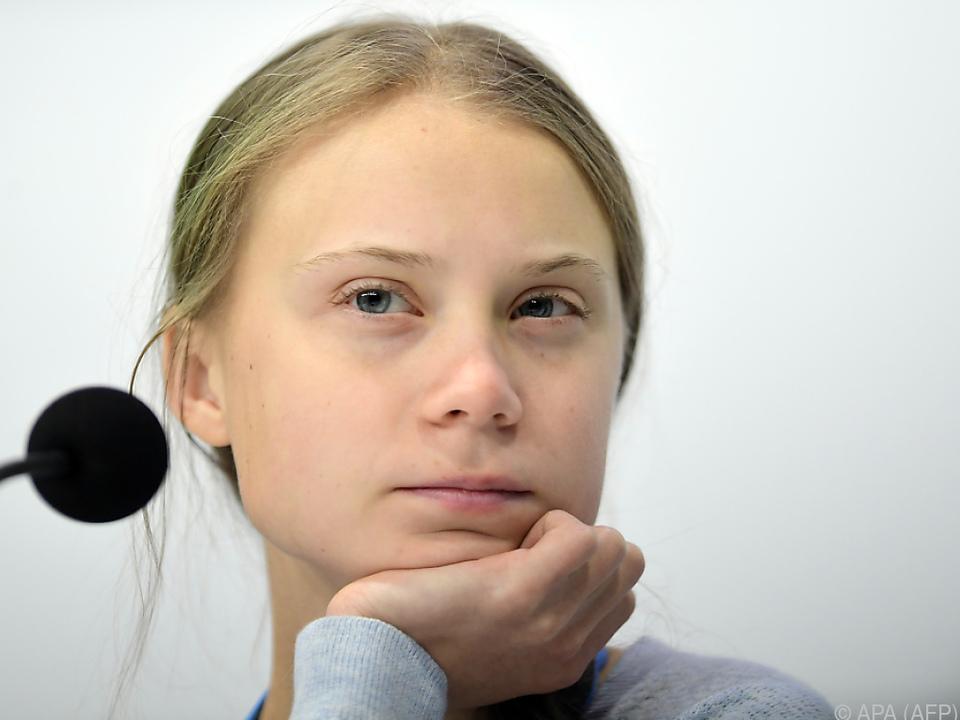 Thunberg kritisierte die noch fehlende Gleichberechtigung
