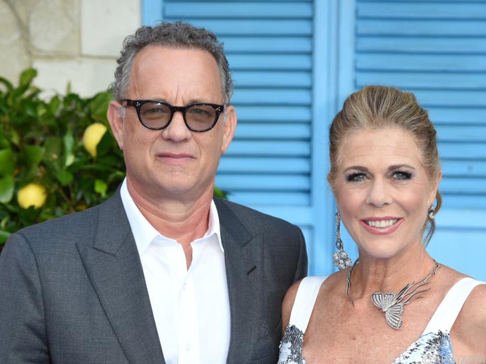 Tom Hanks (63) und Ehefrau Rita Wilson (63)