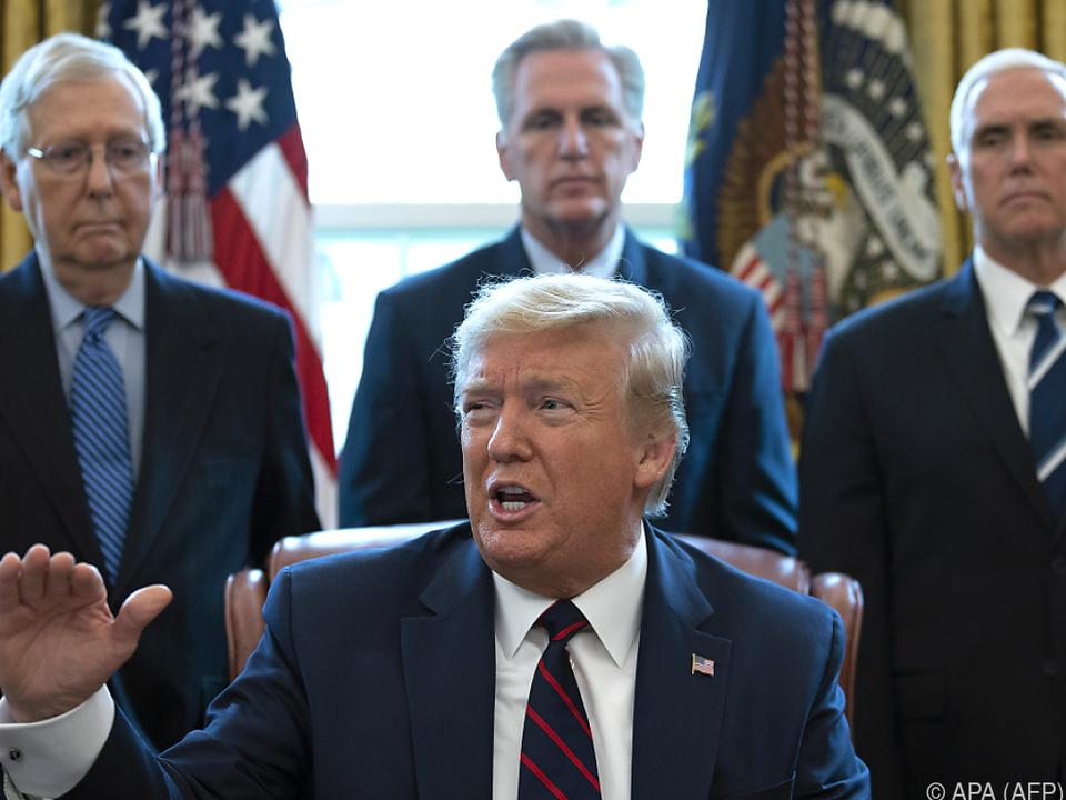 Trumps Republikaner wollen vorerst noch abwarten