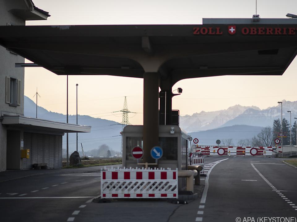 Aktuelle Grenzschließungen