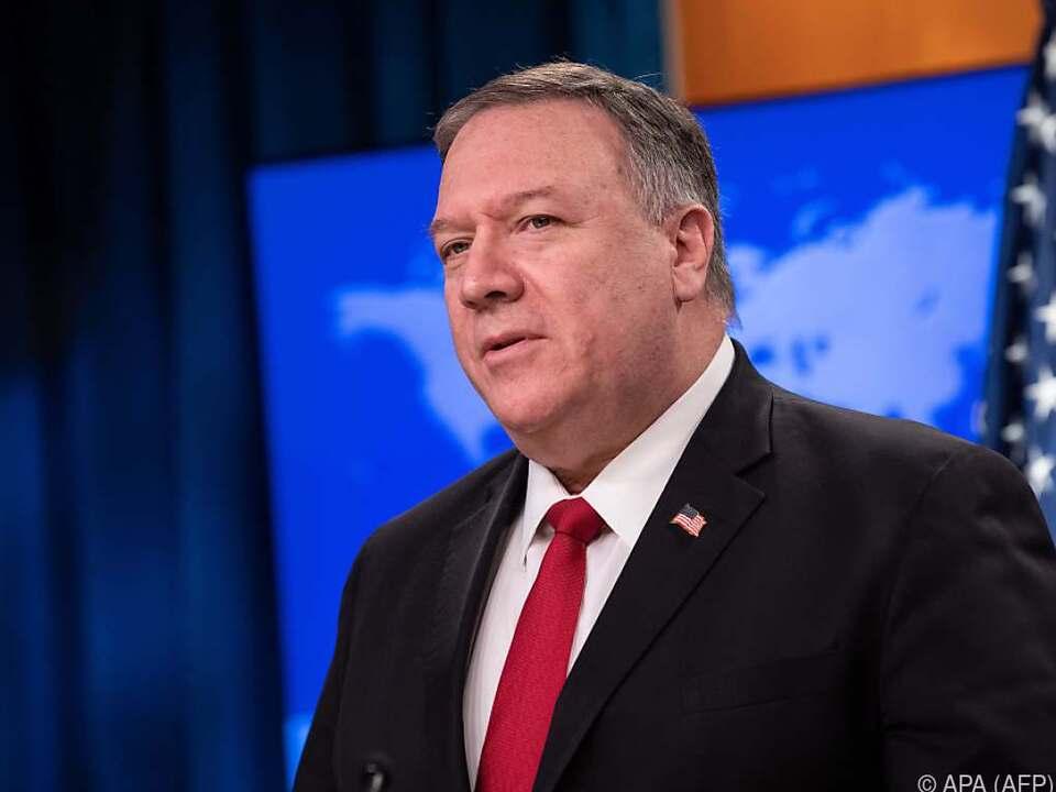 US-Außenminister Pompeo hat einen neuen Feind ausgemacht