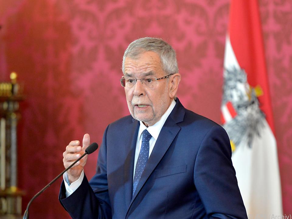 Van der Bellen appelliert an den Zusammenhalt der Österreicher