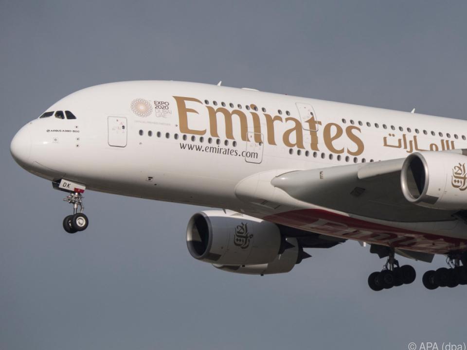 Vorerst keine Emirates-Flüge mehr