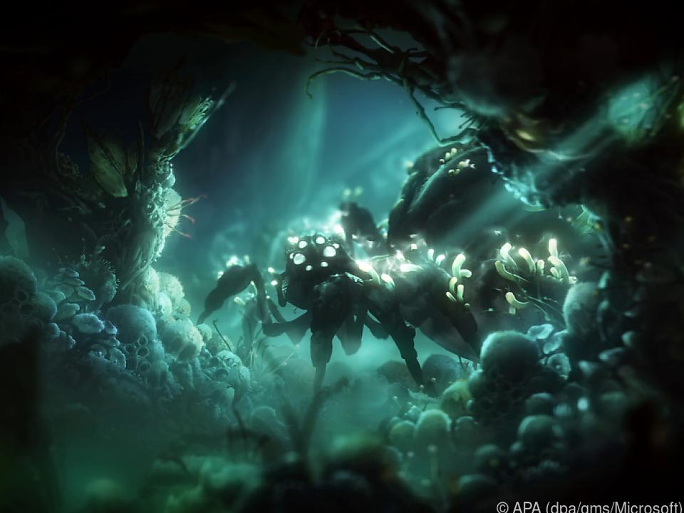 Das Spiel zeichnet sich durch wundervoll animierte Hintergründe aus