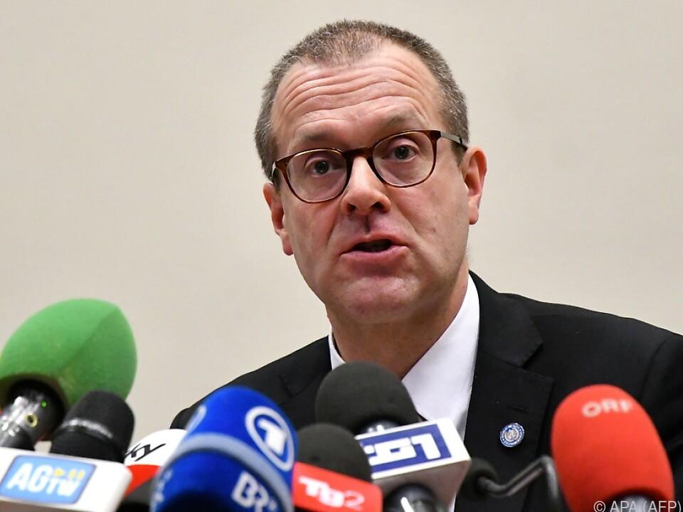 WHO-Regionaldirektor für Europa, Hans Kluge