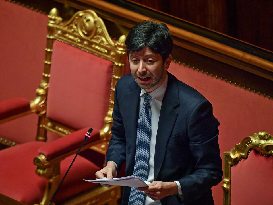 Italien Gesundheitsminister Roberto Speranza