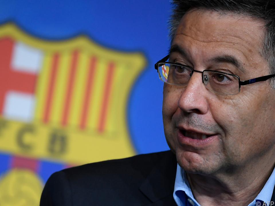 Barca-Präsident Josep Maria Bartomeu unter Druck