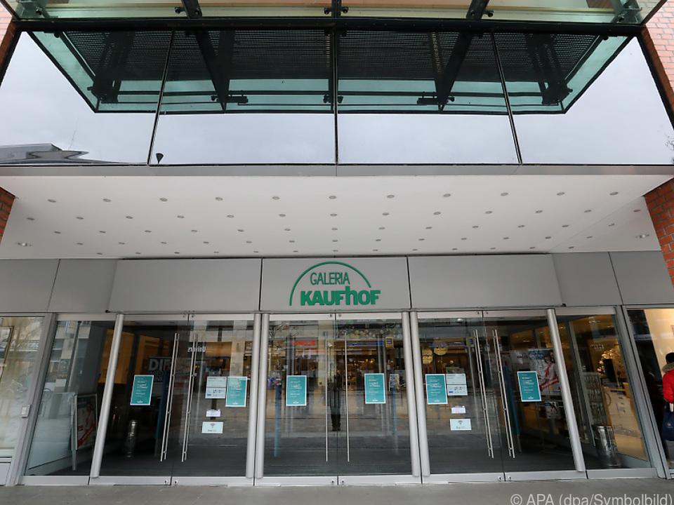 Bei Galeria Karstadt Kaufhof sind die Türen geschlossen