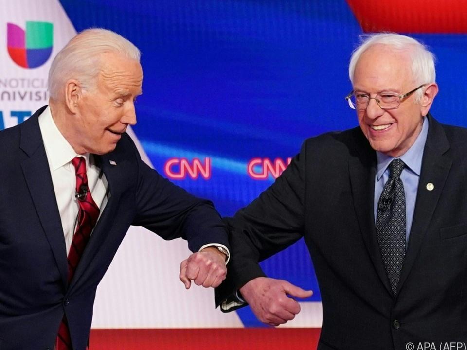 Bernie Sanders unterstützt fortan Joe Biden im US-Wahlkampf