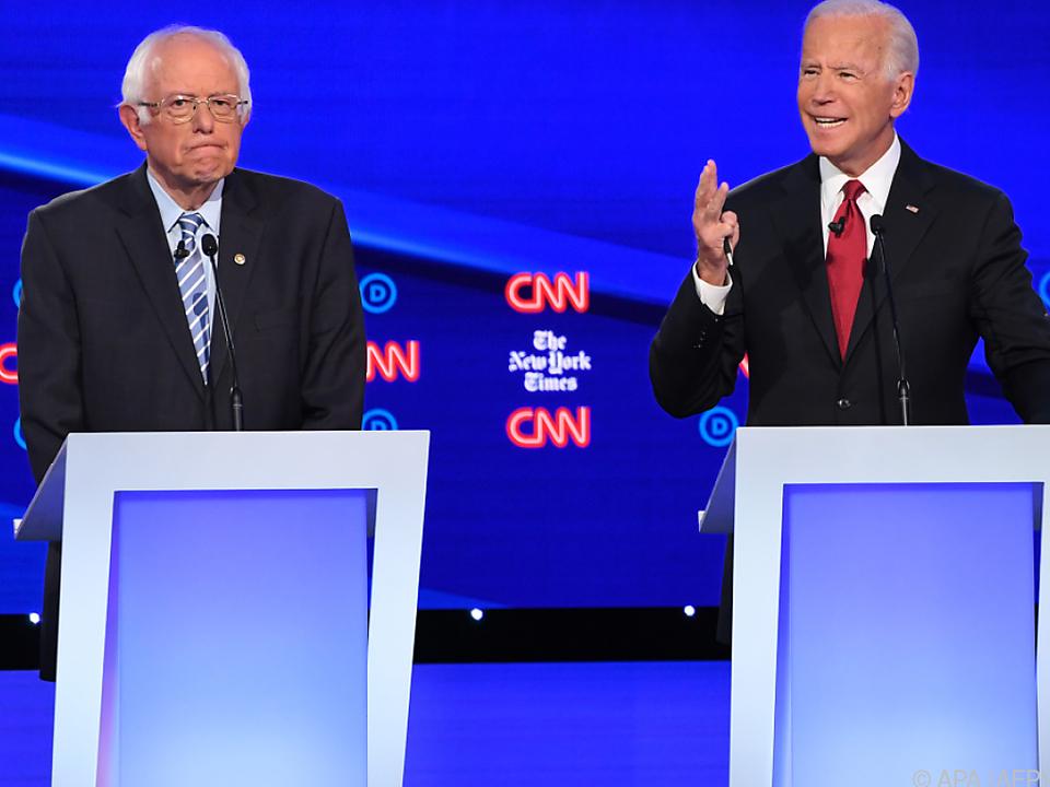 Bernie Sanders warf das Handtuch und machte Weg für Joe Biden frei
