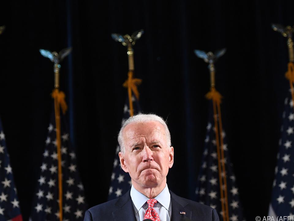 Biden erhielt die Mehrheit der Stimmen