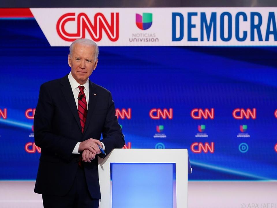 Biden steht quasi als Präsidentschaftskandidat fest