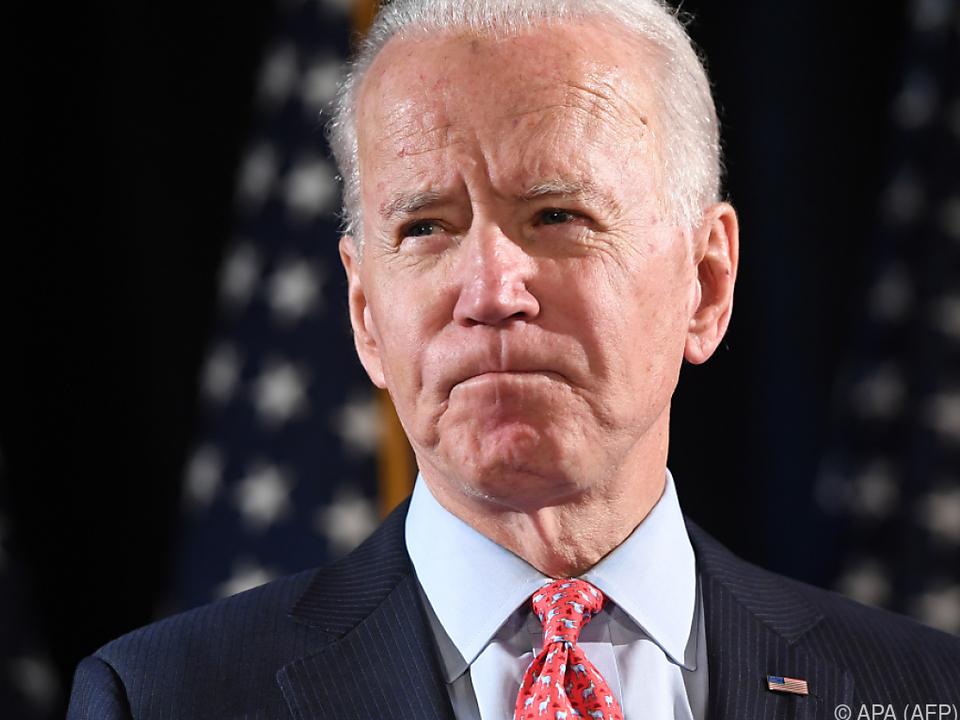 Biden vermutet einen Coup von US-Präsident Trump