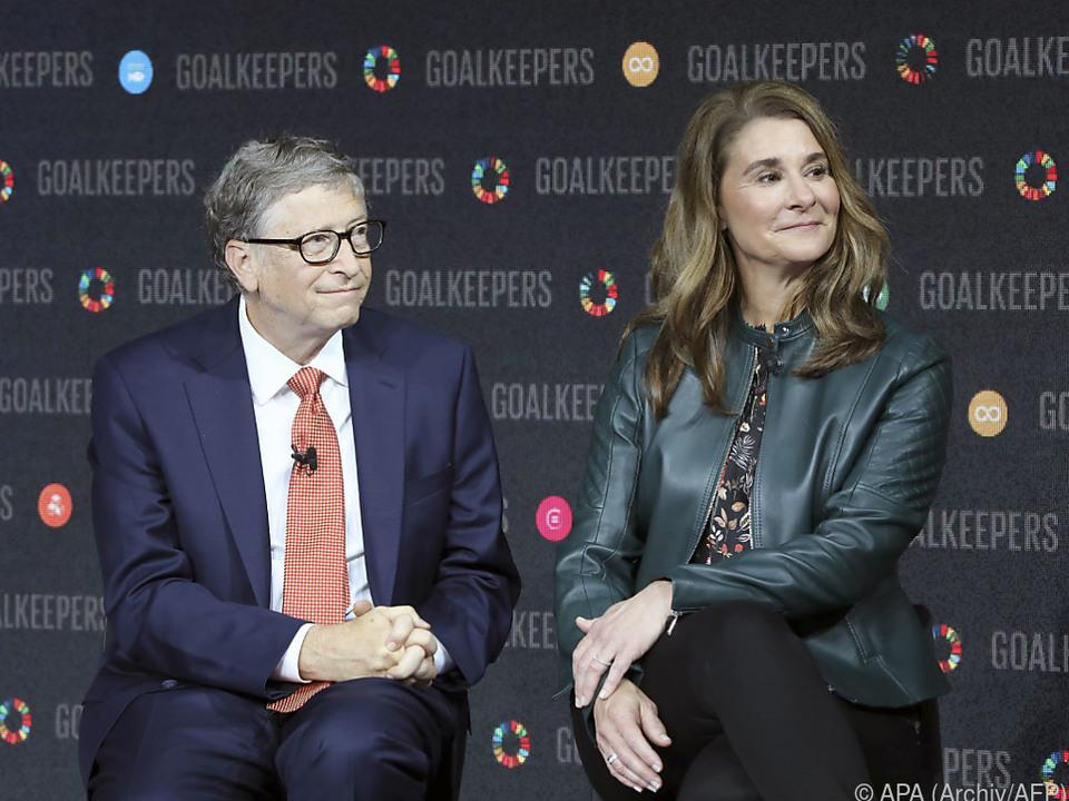 Bill und Melinda Gates riefen zur Zusammenarbeit auf