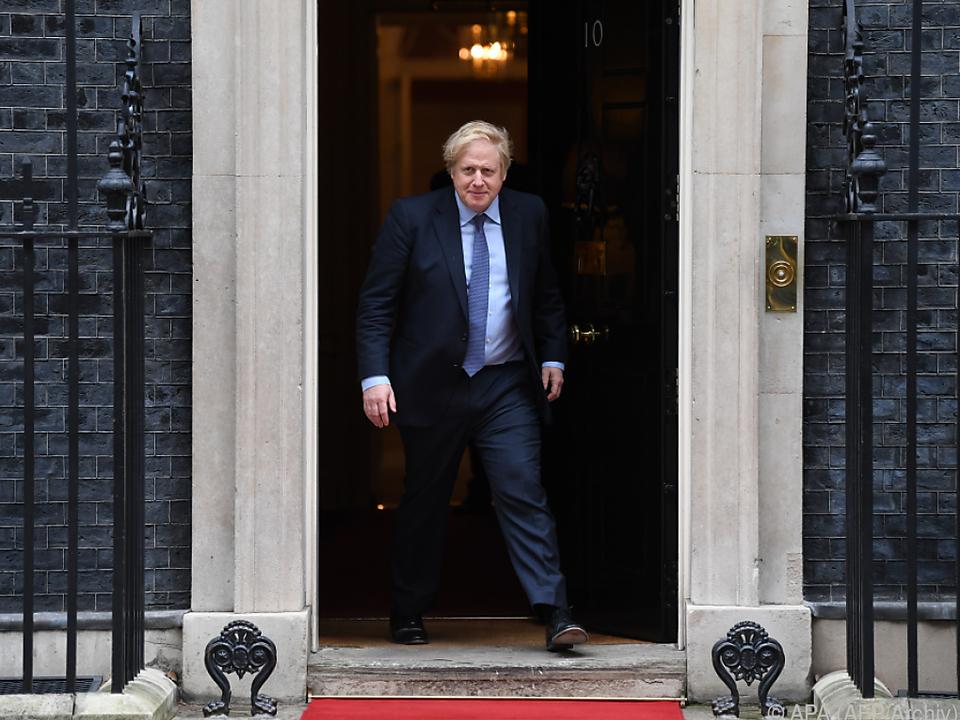 Boris Johnson dürfte demnächst wieder durch diese Tür treten
