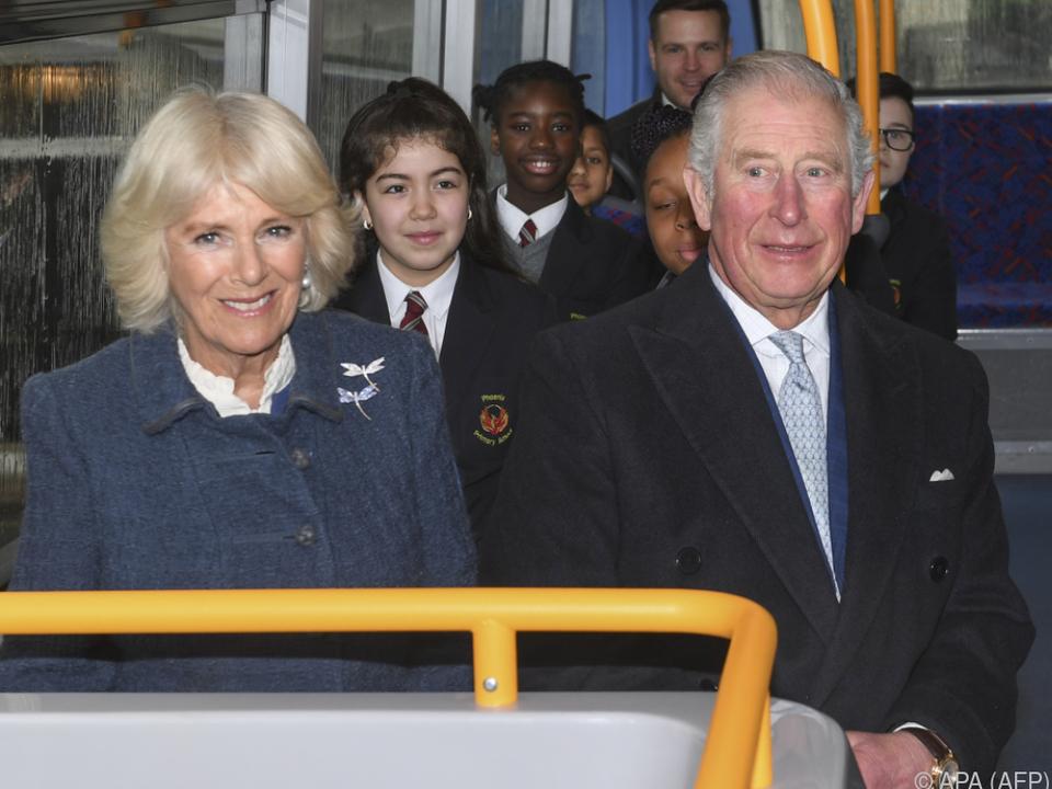 Camilla und Charles haben vor 15 Jahren geheiratet