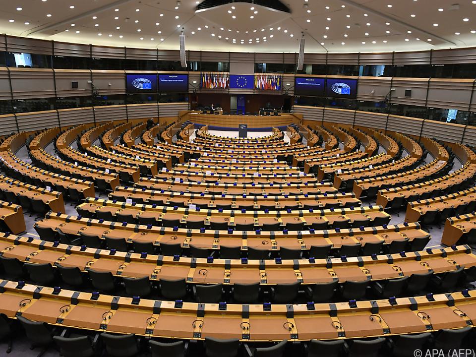 Das EU-Parlament bleibt zu Corona-Zeiten leer