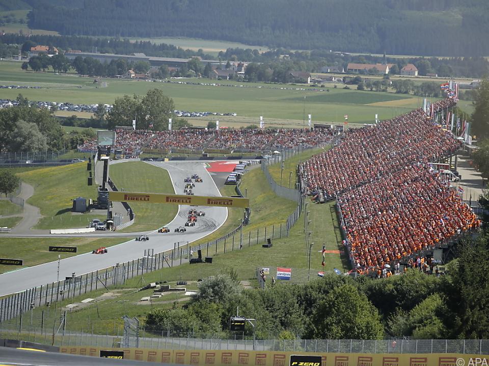 Das Rennen in Spielberg ist allerdings ohne Fans geplant