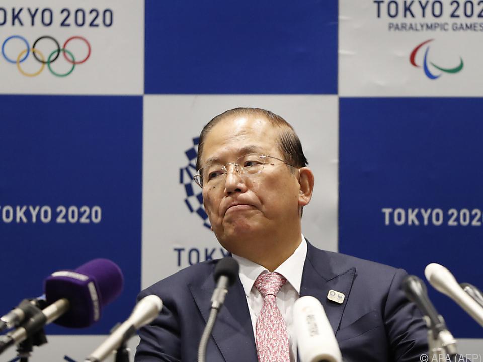 Der Chef des Organisationskomitees, Toshiro Muto