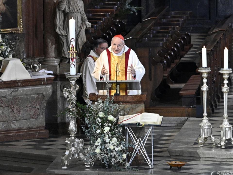Der Kardinal zeigte sich zuversichtlich