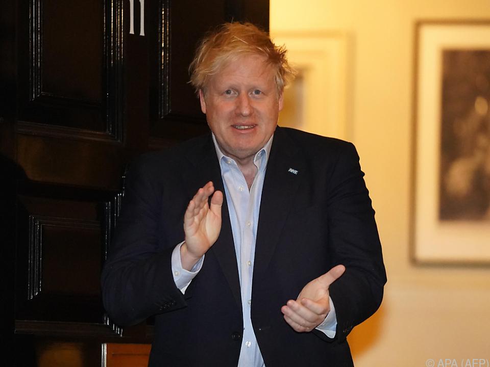 Der Premier ist in der Downing Street in Quarantäne