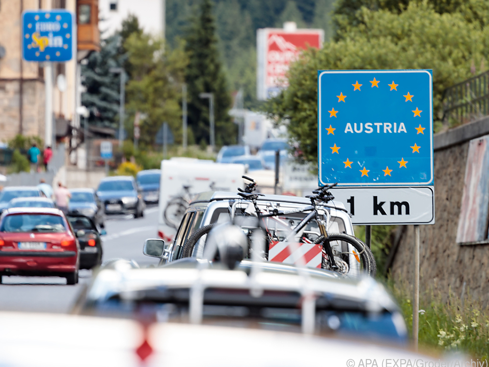 Die Ausnahmebestimmungen gelten an allen österreichischen Außengrenzen