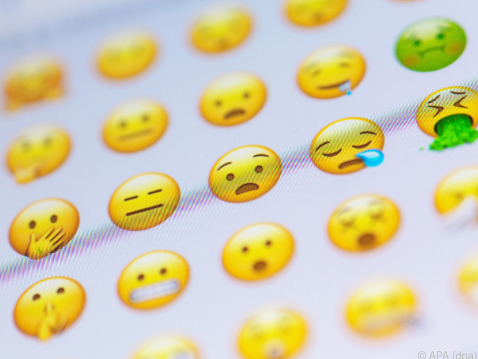 Die Auswahl an Emojis ist inzwischen riesig