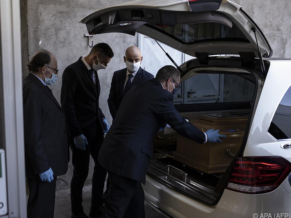 Die meisten Todesfälle hat Italien zu beklagen