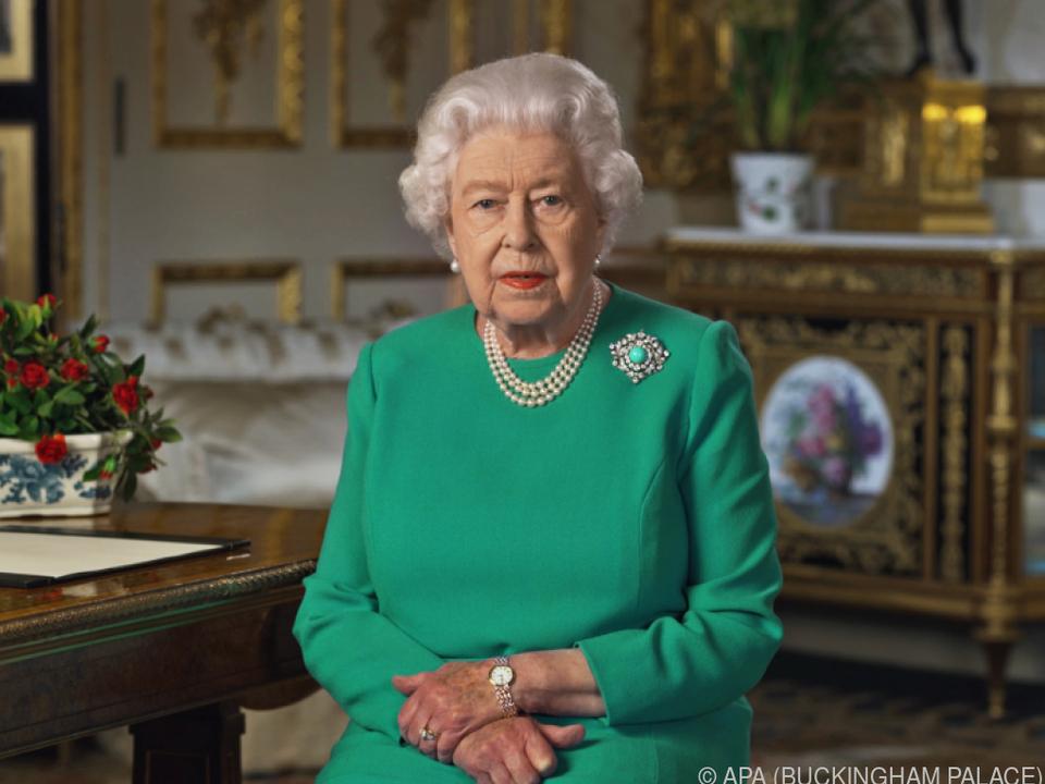 Die Queen wendet sich nur selten direkt an das Volk