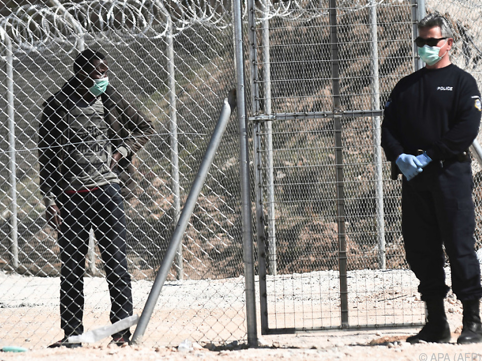Die Situation in den griechischen Flüchtlingslagern bleibt angespannt