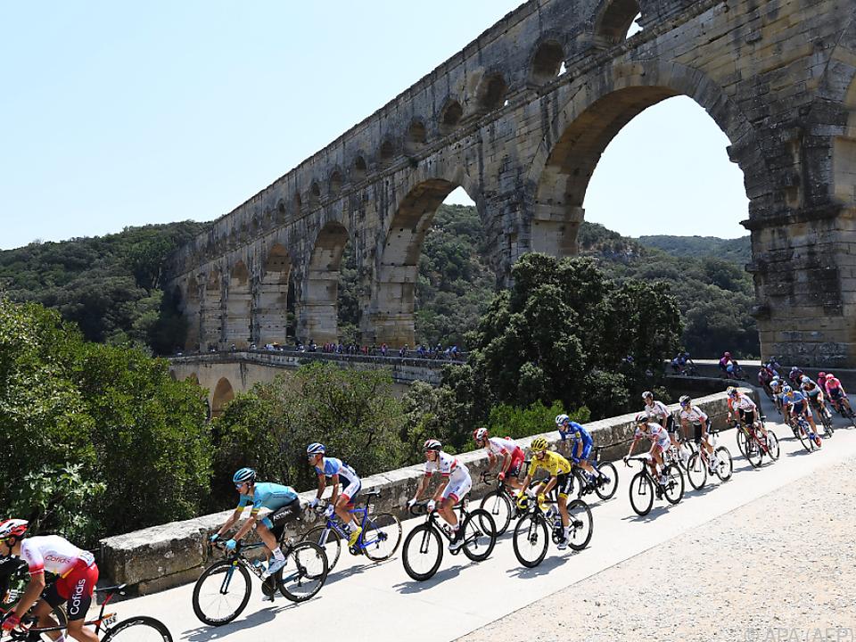 Die Tour de France ist der Höhepunkt des Rennsport-Jahres