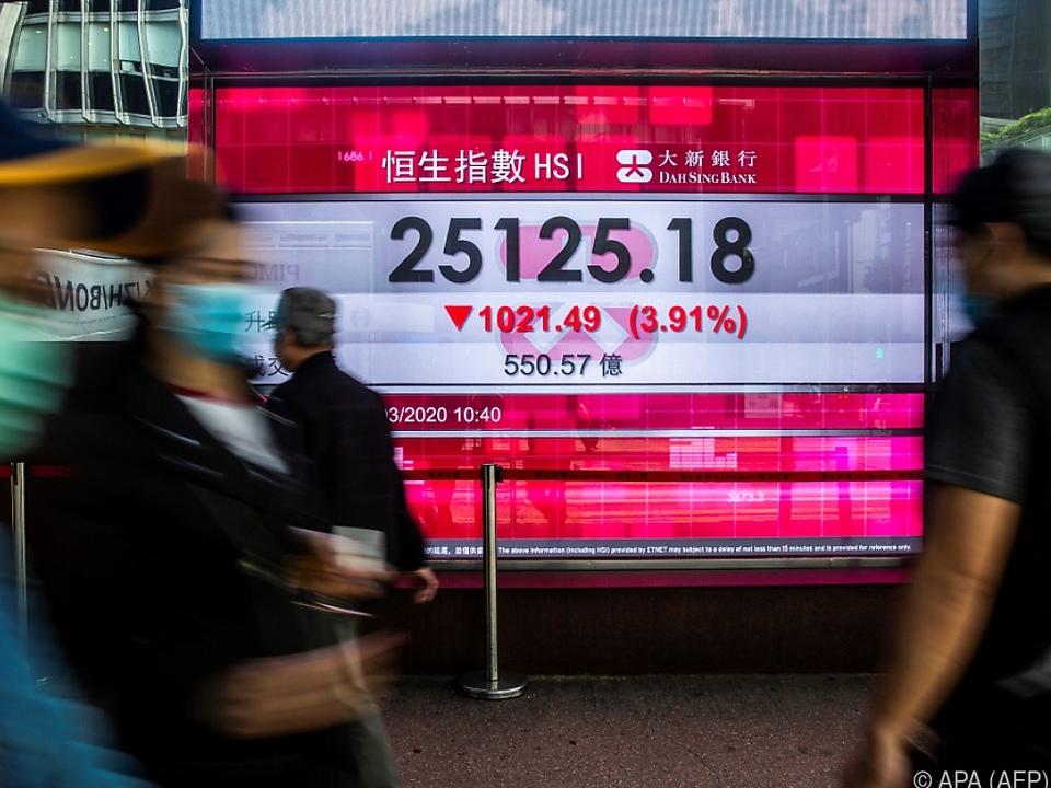 Dritter Rückgang chinesischer Investitionen in Folge