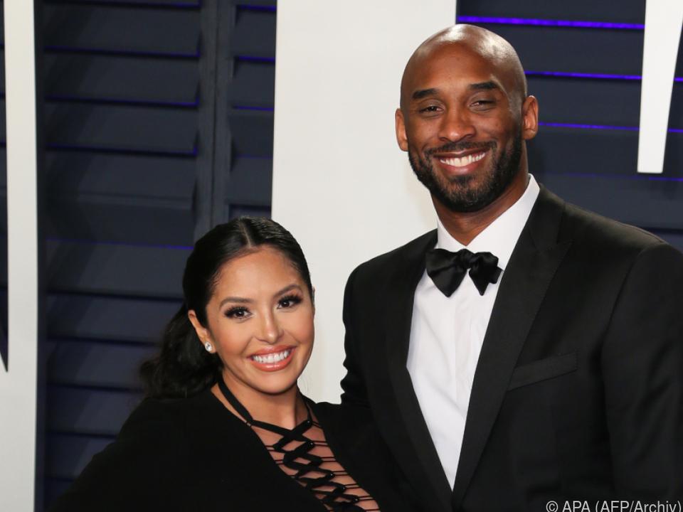 Ein Bild aus glücklicheren Tagen: Vanessa und Kobe Bryant