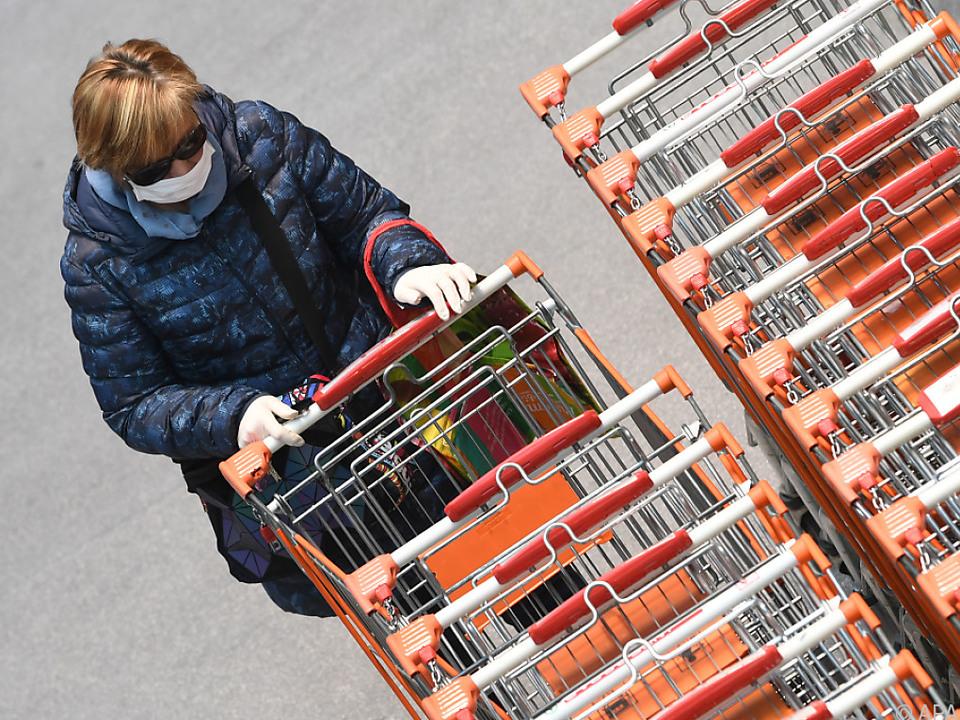 Einkaufen unter speziellen Bedingungen