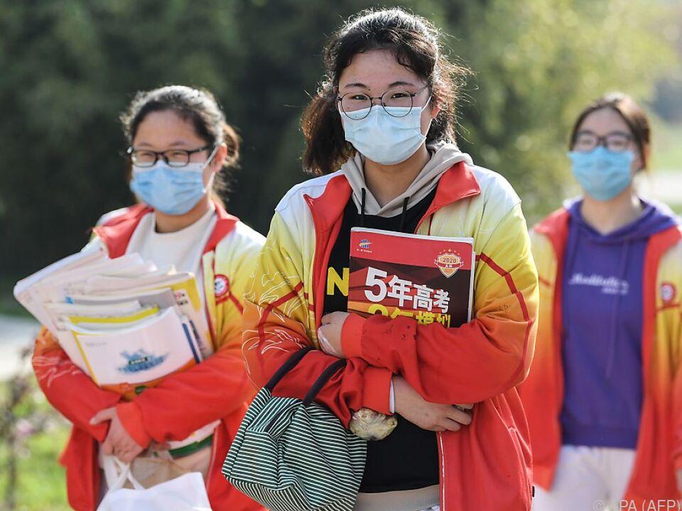 China - Chinesische Stadt Wuhan wieder geöffnet