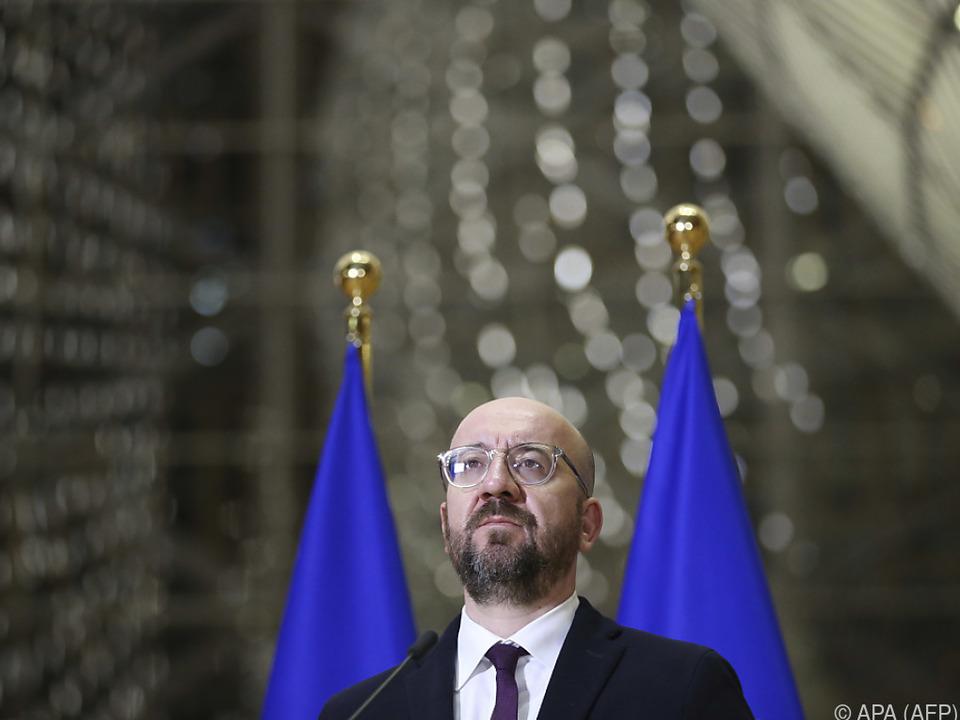 EU-Ratspräsident Charles Michel berief neuen Gipfel ein