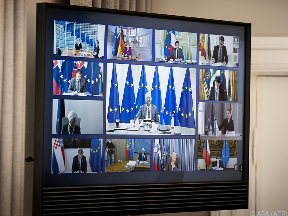EU-Videogipfel verhandelte um Wiederaufbauhilfen