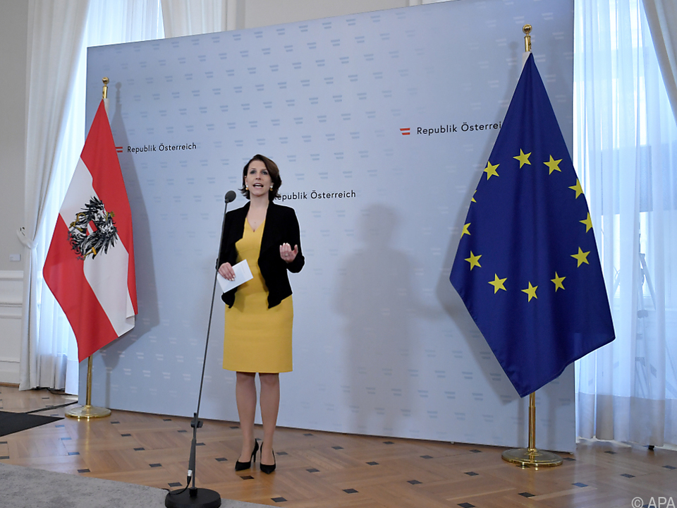 Europaministerin Karoline Edtstadler (ÖVP)